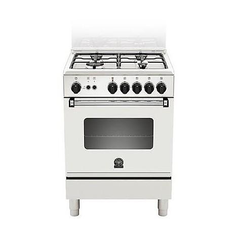 am-64051dwt la germania cucina 60 cm 4 fuochi 1 forno elettrico white