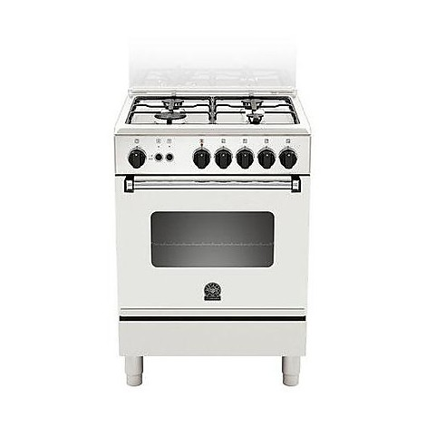 am-64071dw la germania cucina 60 cm 4 fuochi 1 forno a gas white