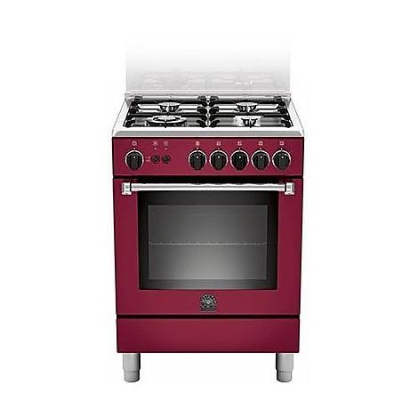 am-64c61cvit la germania cucina 60 cm 4 fuochi 1 forno elettrico vino
