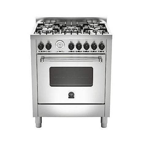 am-75c61bxt la germania cucina 70 cm 5 fuochi 1 forno elettrico inox
