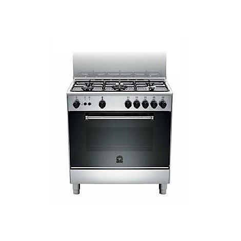 am-85c61dxt la germania cucina 80 cm 5 fuochi 1 forno elettrico inox