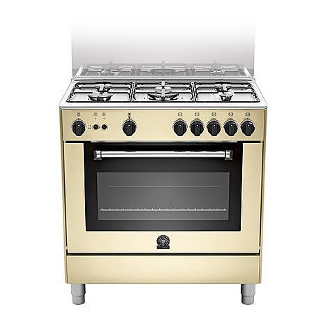 am-85c71ccr la germania cucina 80 cm 5 fuochi 1 forno a gas crema