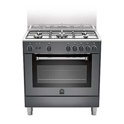 am-85c71cne la germania cucina 80 cm 5 fuochi 1 forno a gas nera