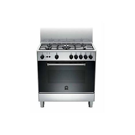 am-85c71dx la germania cucina 80 cm 5 fuochi 1 forno a gas inox