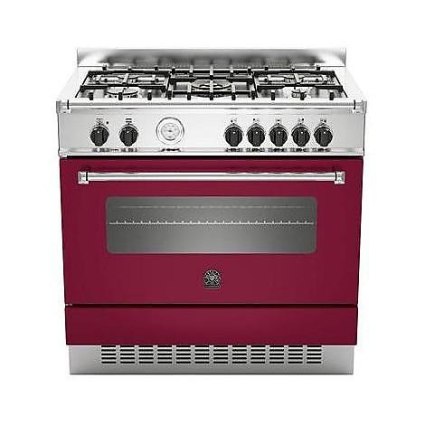 am-95c61avit la germania cucina 90 cm 5 fuochi 1 forno elettrico vino