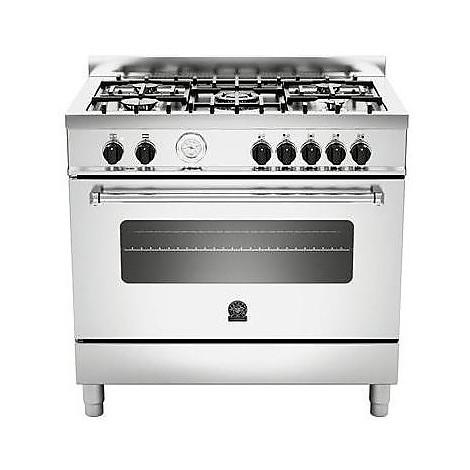 am-95c61bxt la germania cucina 90 cm 5 fuochi 1 forno elettrico inox