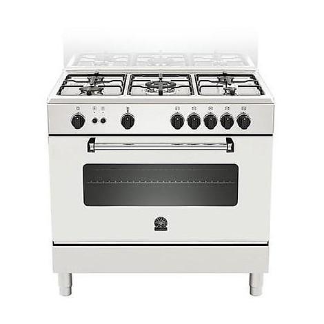 am-95c61dwt la germania cucina 90 cm 5 fuochi 1 forno elettrico white
