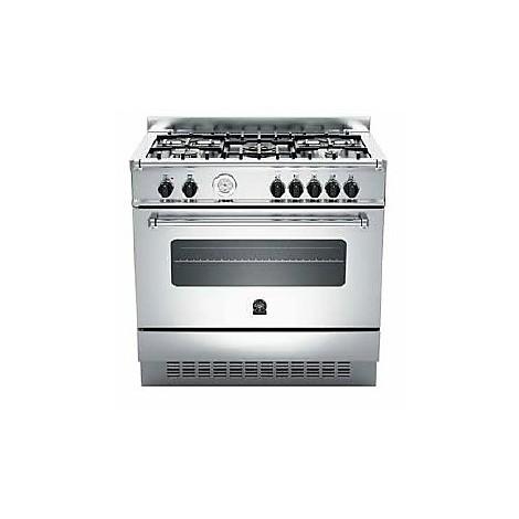 am-95c71ax la germania cucina 90 cm 5 fuochi 1 forno a gas inox