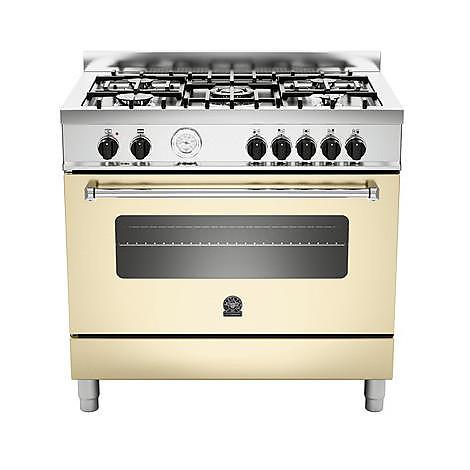 am-95c71bcr la germania cucina 90 cm 5 fuochi 1 forno a gas crema