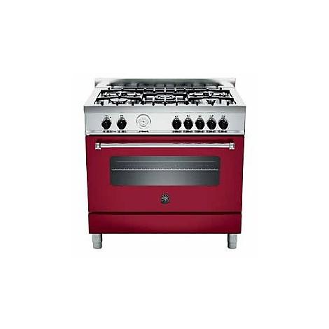 am-95c71bvi la germania cucina 90 cm 5 fuochi 1 forno a gas vino