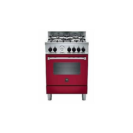 am64c71bvi la germania cucina 60 cm 4 fuochi 1 forno a gas vino