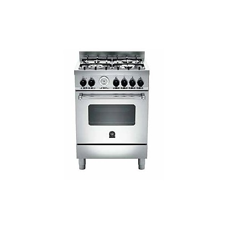 am64c71bx la germania cucina 60 cm 4 fuochi 1 forno a gas inox