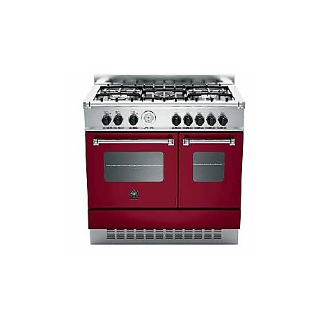 amd-5c61avi la germania cucina 90 cm 5 fuochi 2 forni elettrici vino