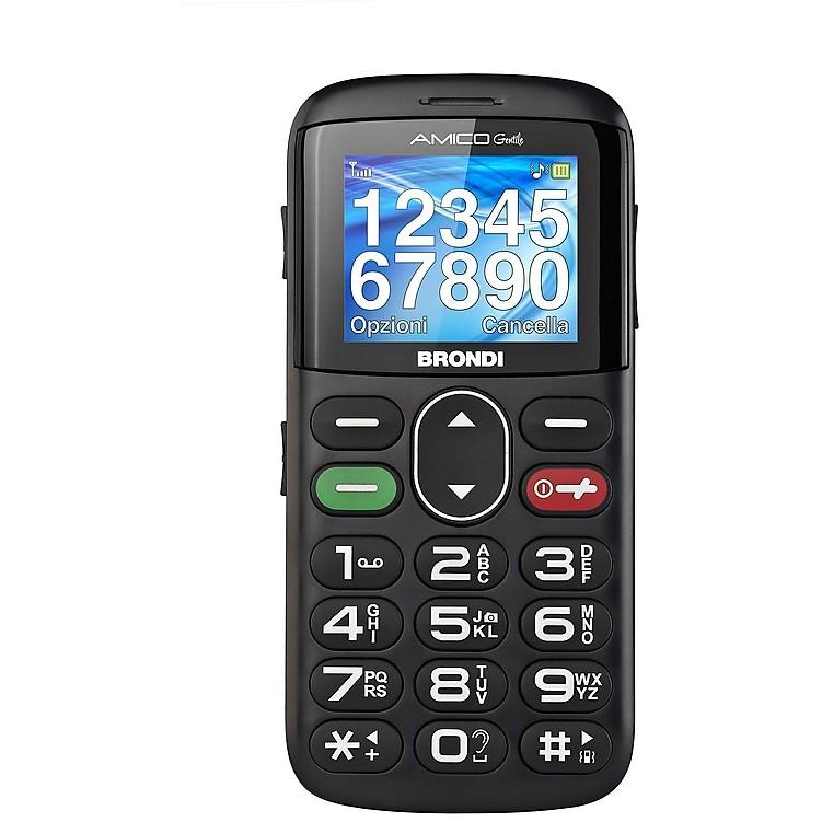 amico gentile nero brondi dual sim mobile phone
