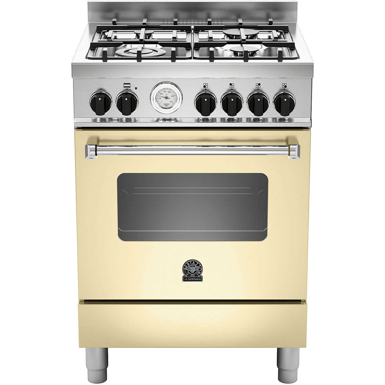 AMN604GEVSCRT La Germania cucina 60x60 4 fuochi a gas forno gas ...