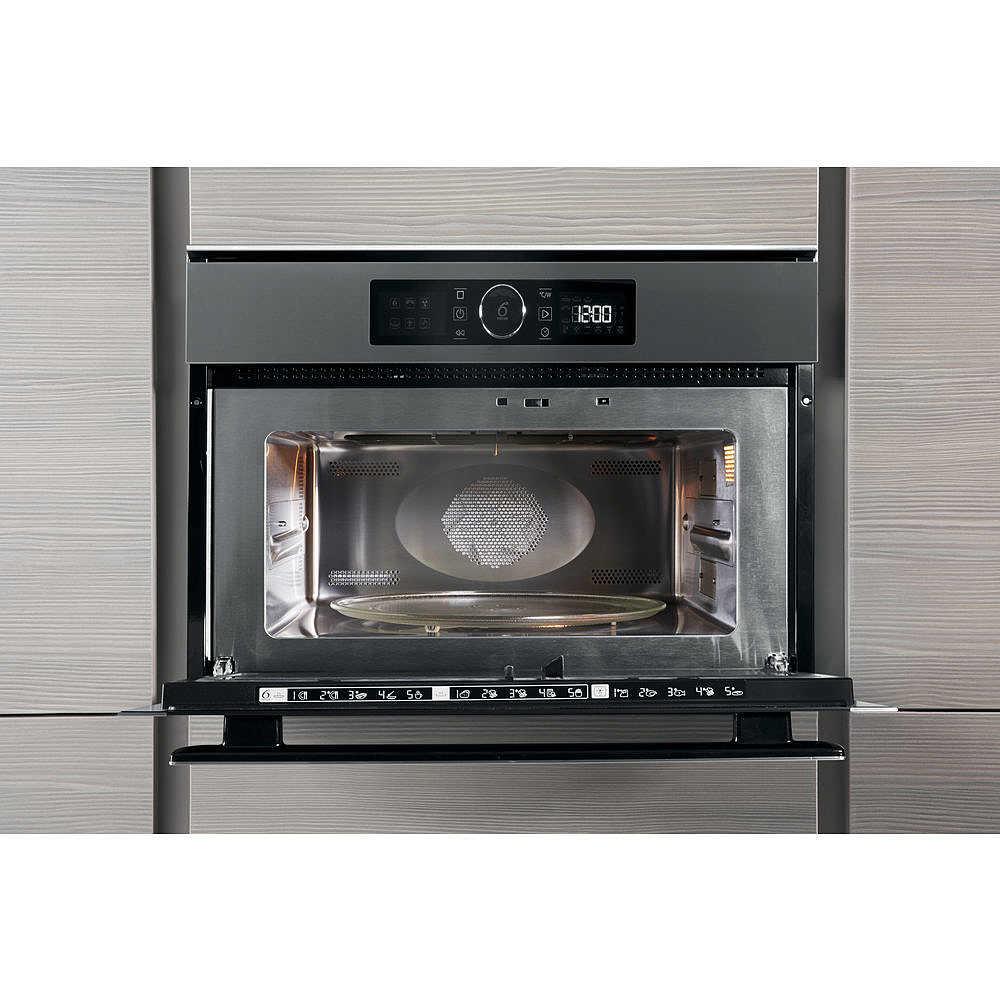 AMW 508/IX Whirlpool forno microonde incasso 40lt 900w acciaio ...