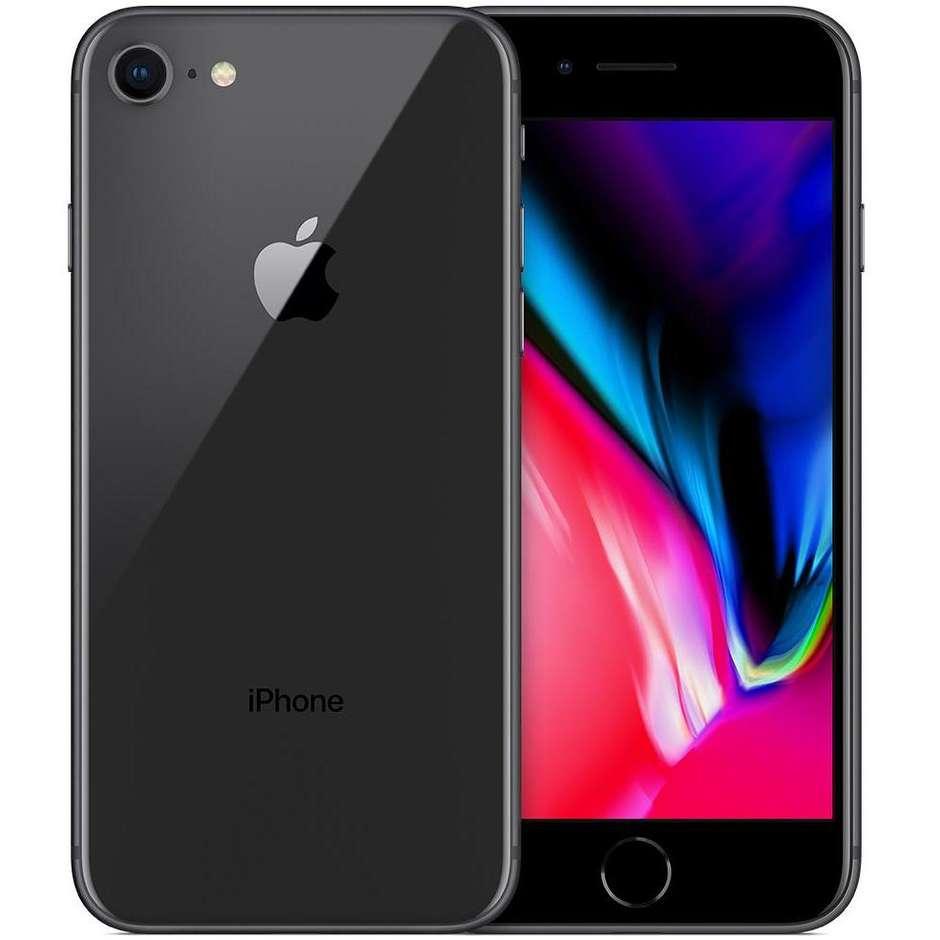 "Apple iPhone 8 Smartphone 4,7"" Retina HD memoria 64 GB Fotocamera 12 MP IOS 11 colore Space grey"