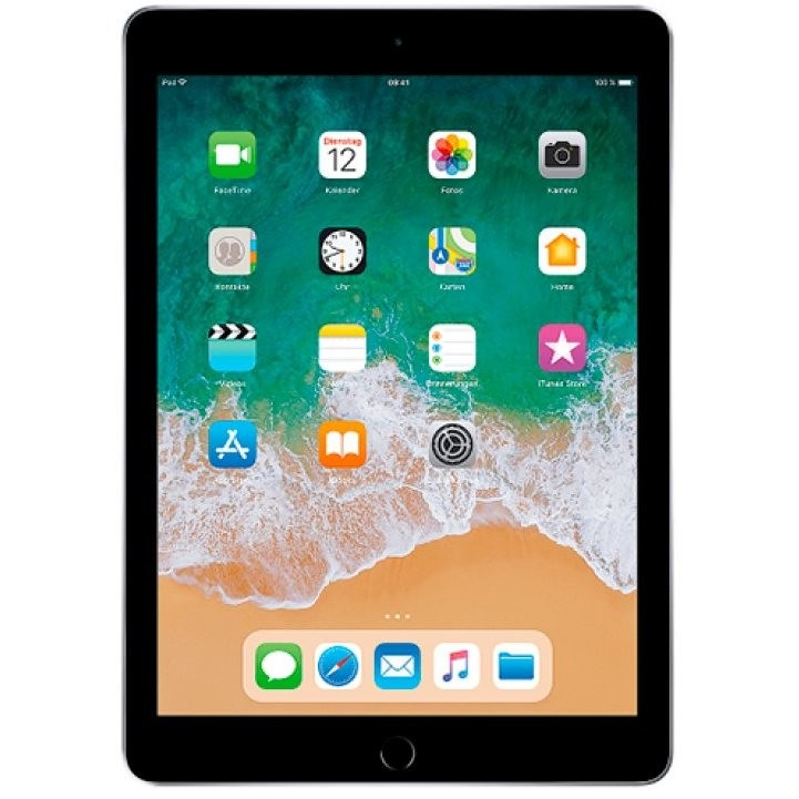 "Apple MR7F2TY/A iPad 2018 Tablet 9.7"" memoria 32 GB Wifi colore Grigio"