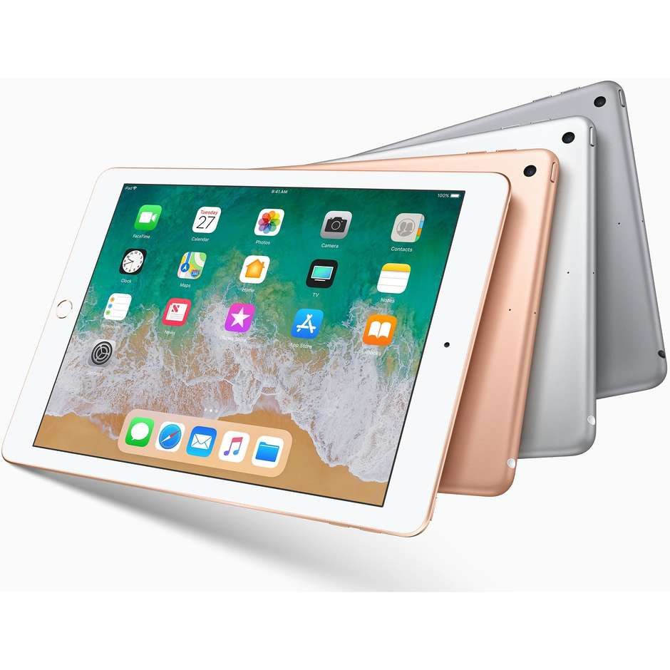 "Apple MR7G2TY/A iPad tablet 9.7"" Retina memoria 32 GB Wifi colore Argento"
