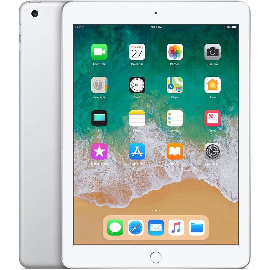 "Apple MR7K2TY/A iPad Tablet 9.7"" memoria 128 GB Wifi colore Silver"