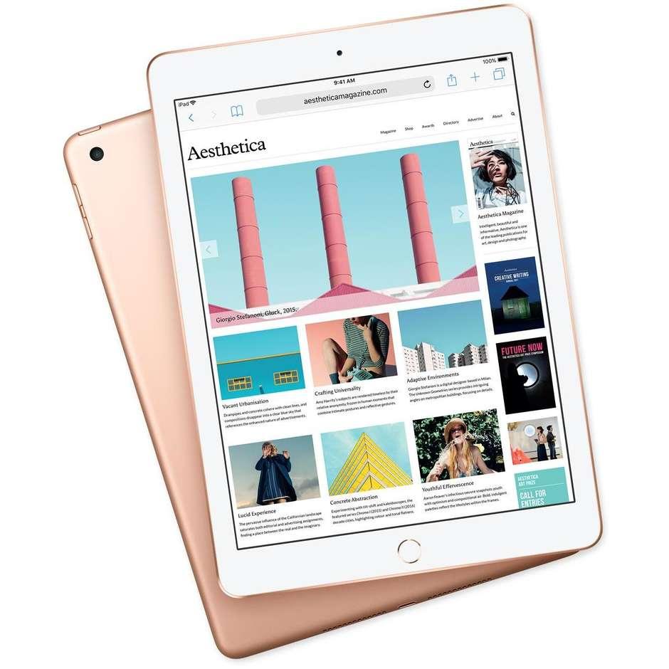 """Apple MRJP2TY/A iPad 2018 Tablet 9.7"""" memoria 128 GB Wifi colore Oro"""