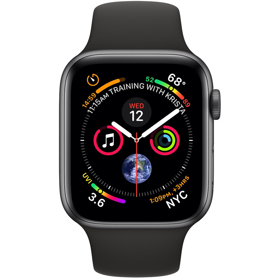 Apple MTVD2TY/A Watch Series 4 (GPS + Cellular) smartwatch 40 mm Wi-fi Bluetooth NFC colore space grey
