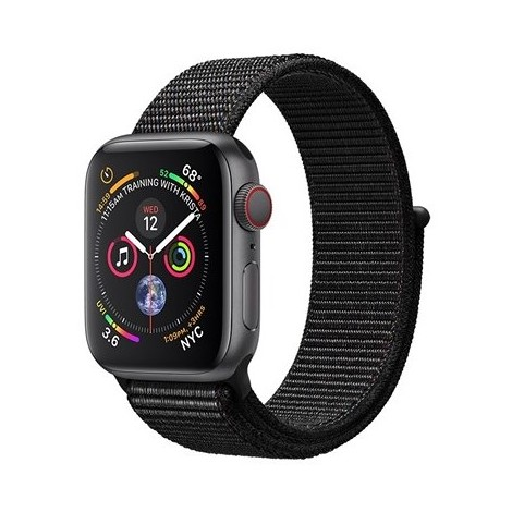 Apple MTVF2TY/A Smartwatch 40 mm Serie 4 GPS Capacità 16 GB Wifi + Cellular 4G Lte colore Space Grey