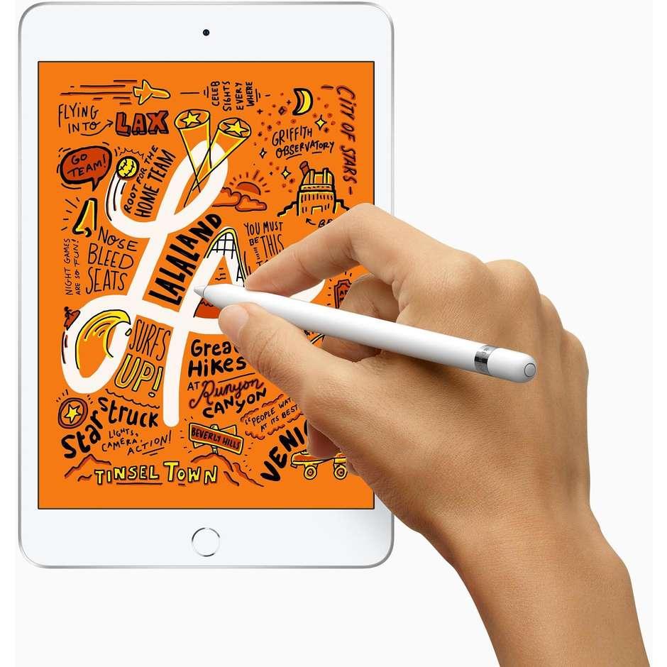 "Apple MUX62TY/A iPad Mini Tablet 7,9"" memoria 64 GB Wifi + Cellular colore Argento"