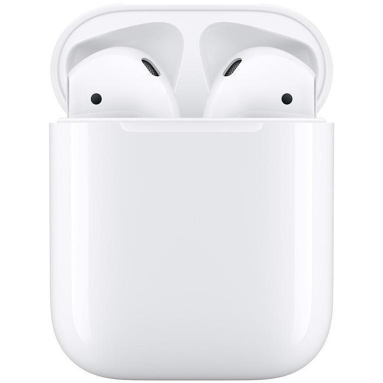 Apple MV7N2TY/A AirPods 2 2019 cuffie wireless Bluetooth con custodia di ricarica colore bianco