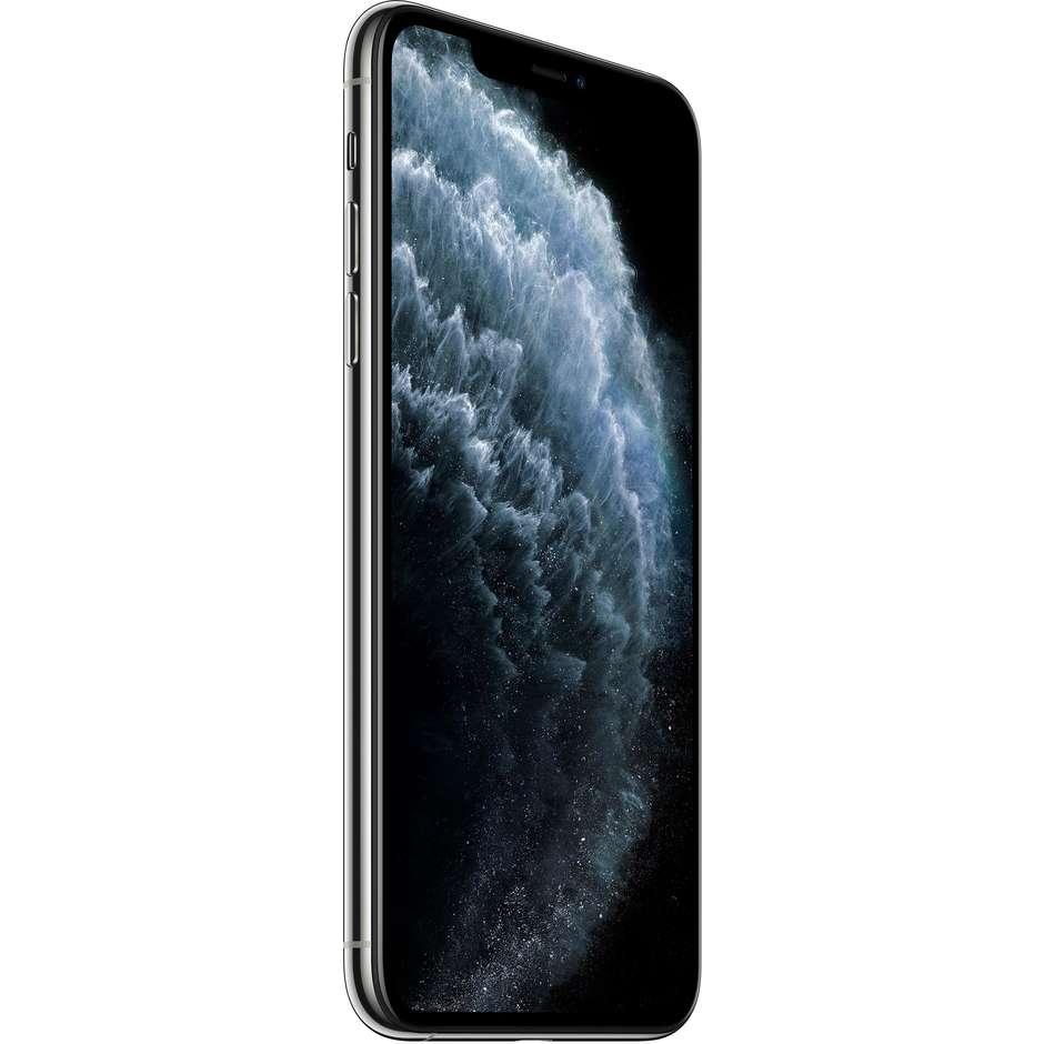 """Apple MWHF2QL/A iPhone 11 Pro Max Smartphone 6.5"""" memoria 64 GB iOS 13 colore argento"""