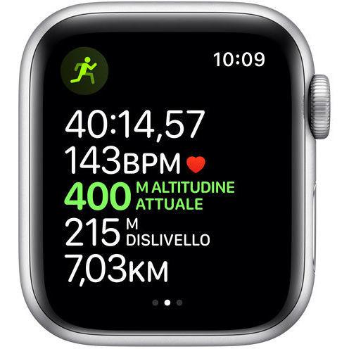 Apple MWV62TY/A Watch 5 Smartwatch 40 mm GPS Wifi Bluetooth colore bianco