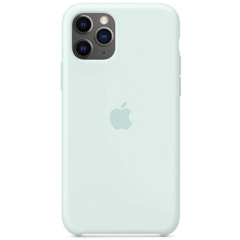 Apple MY152ZM/A cover per iPhone 11 Pro colore verde acqua ...
