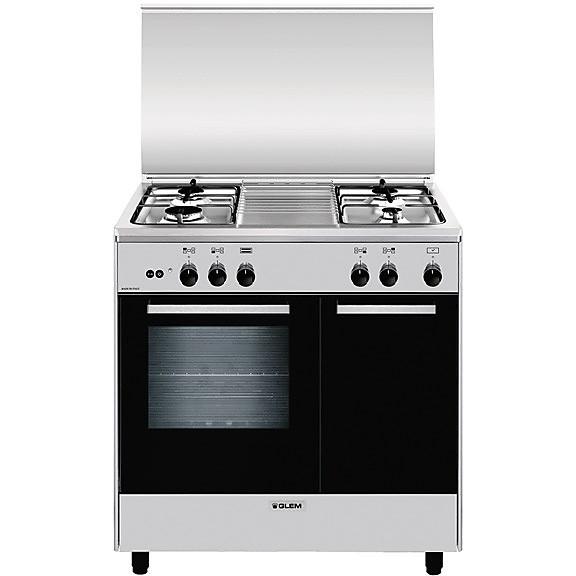 ar-854gi glem gas cucina 80x50 4 fuochi a gas forno a gas