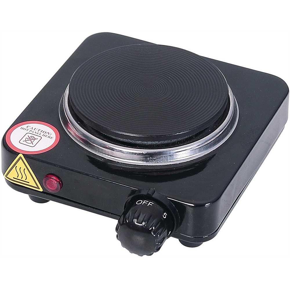 Ardes ar1f18 fornello elettrico 1 piastra in ghisa for Fornello campeggio elettrico