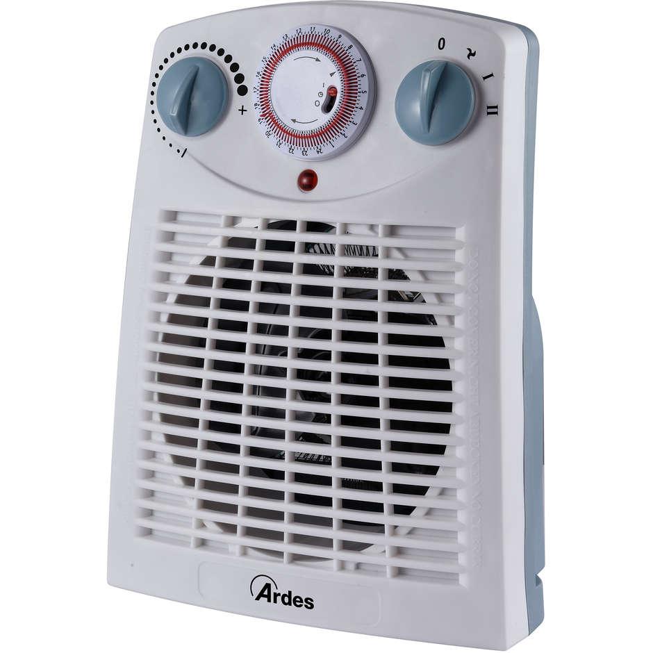 Ardes AR449TI termoventilatore potenza max 2000 Watt timer 24 ore