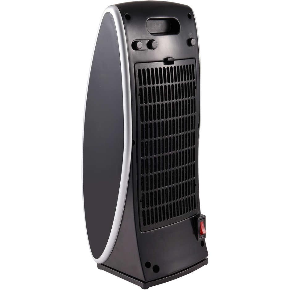 Ardes AR4P11 Kaari Termoventilatore ceramico oscillante potenza 2000 Watt colore nero