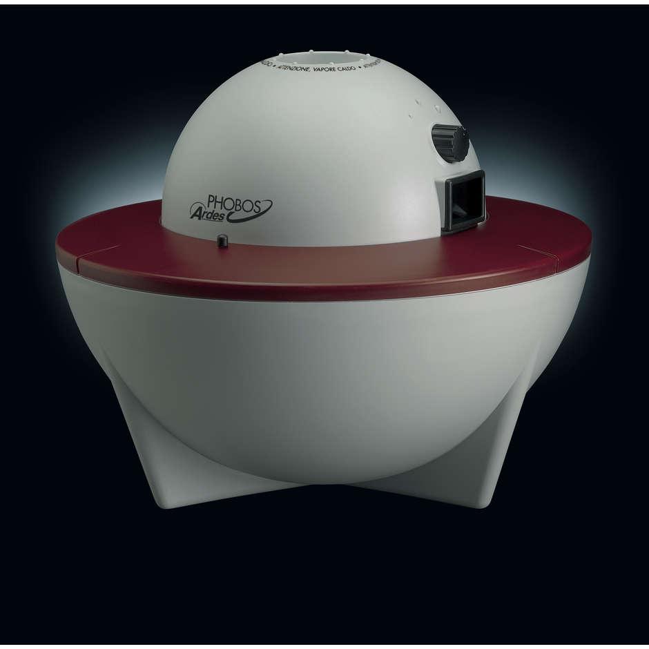 Ardes AR840 Phobos umidificatore a caldo capacità 3,5 litri colore bianco, rosso