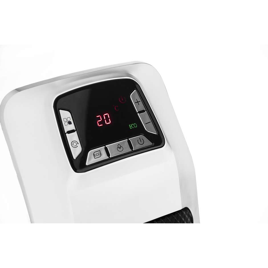 Argo 191070158 FUSION termoventilatore ceramico con timer colore bianco e grigio