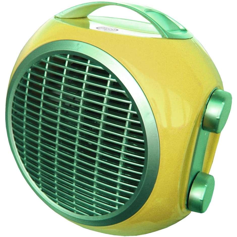 Argo 191070168 POP FRUIT termoventilatore compatto 2 modalità riscaldamento colore giallo