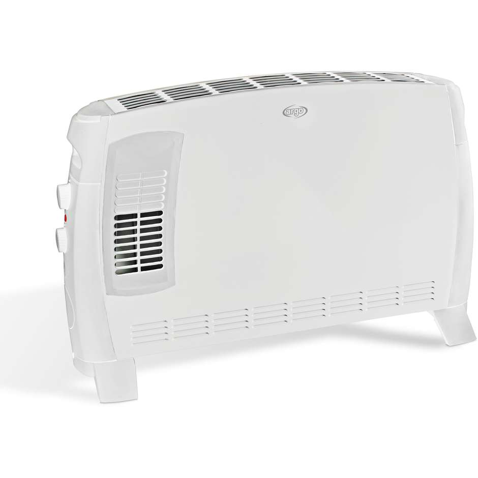 Argo Jazz Termoconvettore elettrico 3 modalità di riscaldamento 2000 W colore Bianco