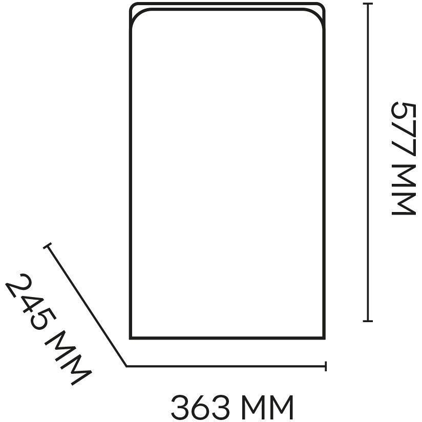 Argo PLATINUM 41 deumidificatore 41 l/24h per ambienti fino a 48 mq