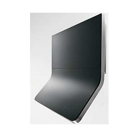 aria 90 cm ix vetro nero tecnowind cappa