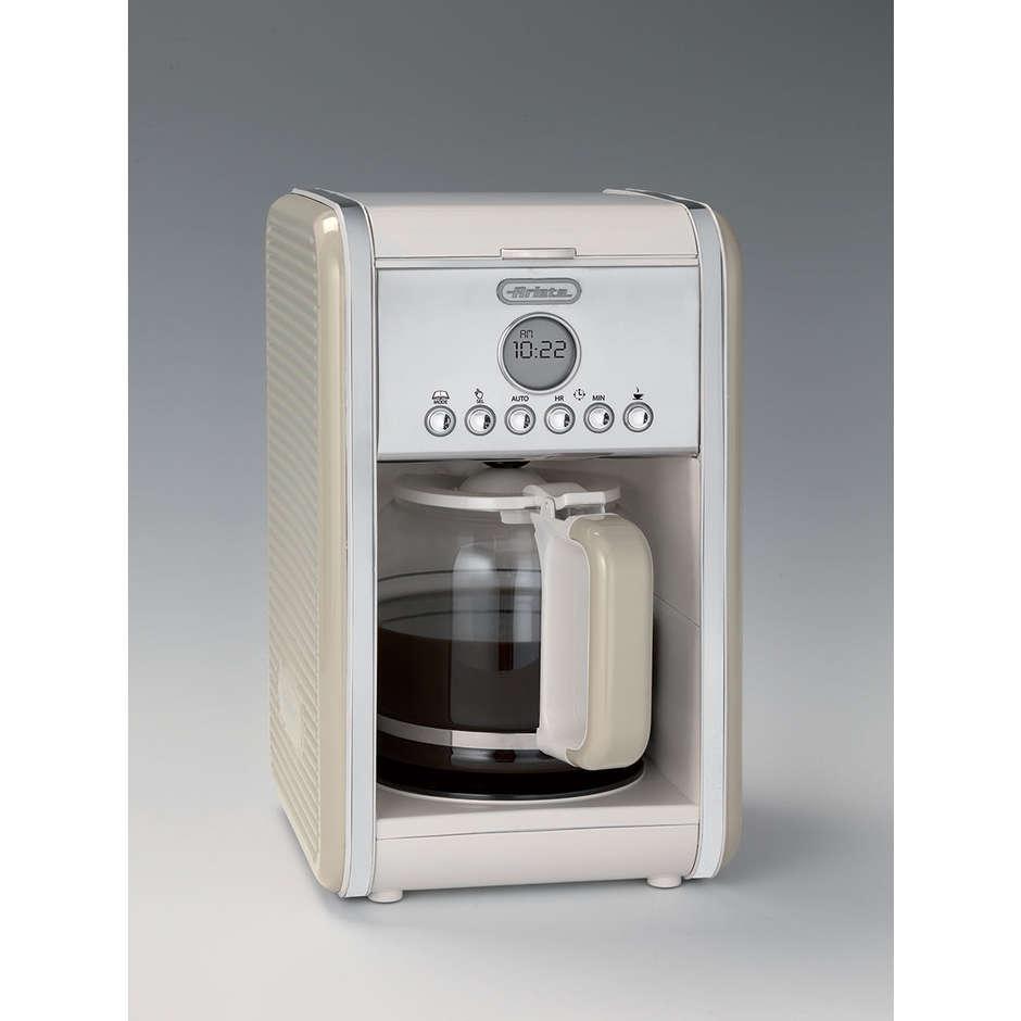 Ariete 1342 Filtro Vintage macchina caffè americano capacità max 12 tazze colore beige