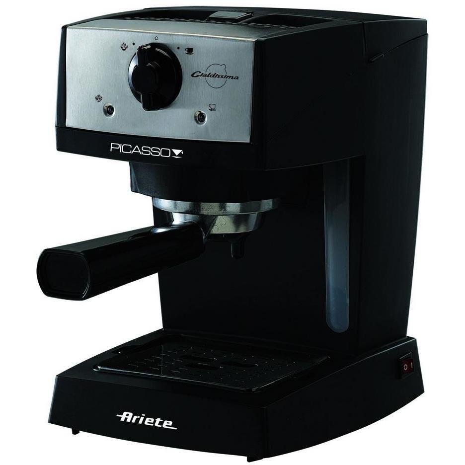 Ariete 1366 Picasso Cialdissima macchina del caffè polvere+cialde potenza 850 Watt colore nero