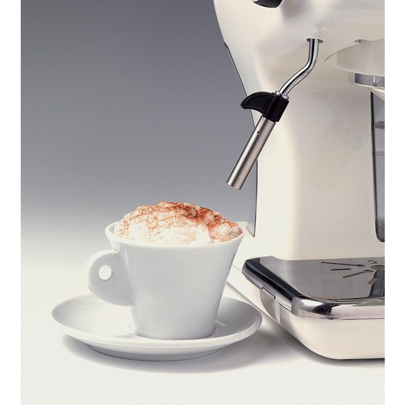 Ariete 1389 Espresso Vintage Celeste macchina da caffè vintage 900 watt colore bianco e celeste