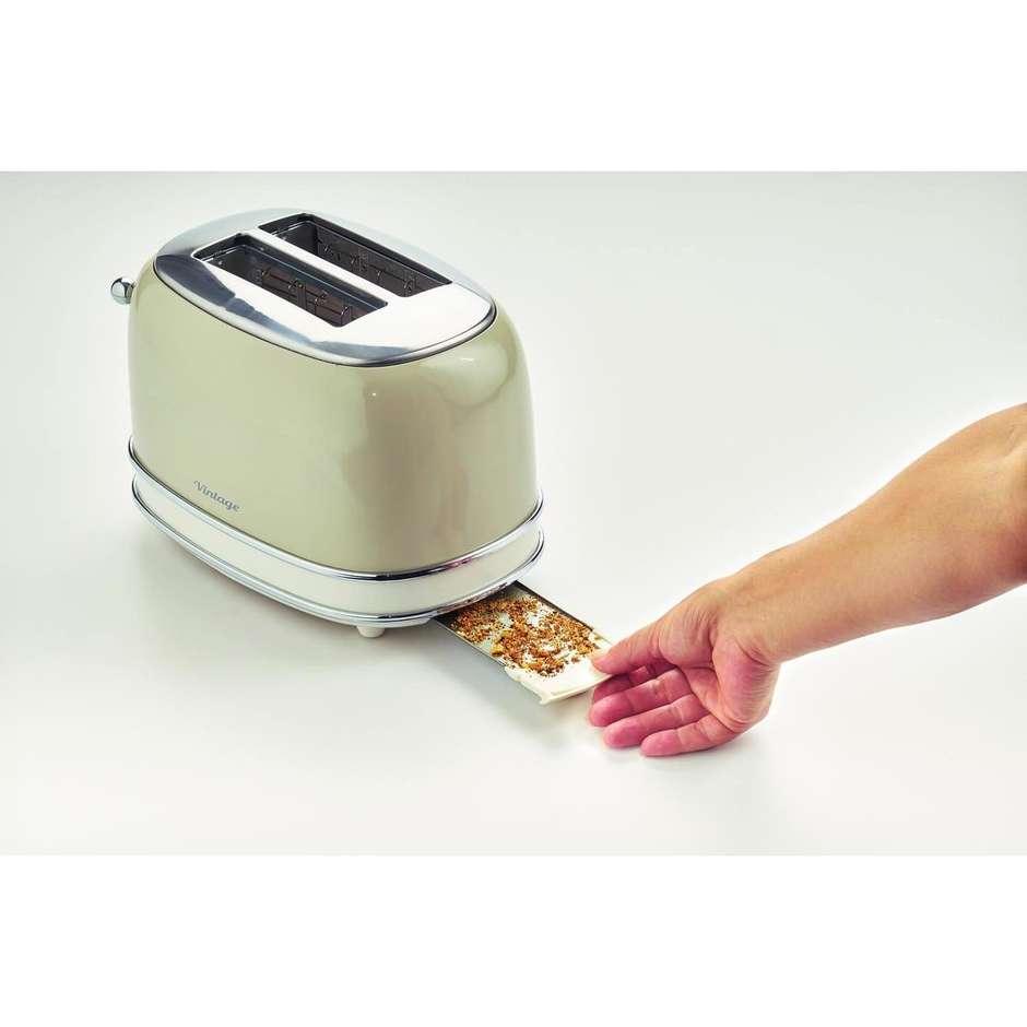Ariete 155 toaster vintage tostapane 2 fette con pinze for Tostapane ariete vintage