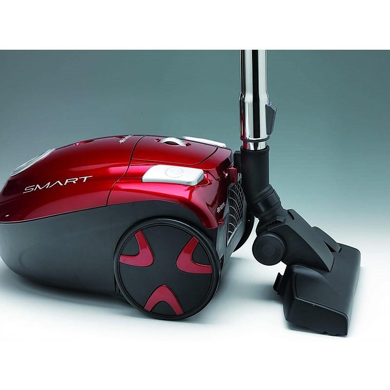 Ariete 2735 Smart aspirapolvere a traino con sacco 700 Watt classe A colore rosso