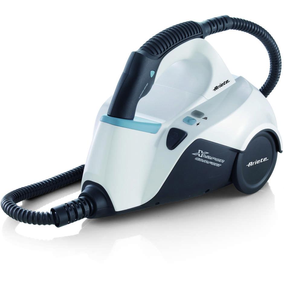 Ariete 4145 Xvapor Comfort pulitore a vapore a traino potenza 1500 Watt colore bianco