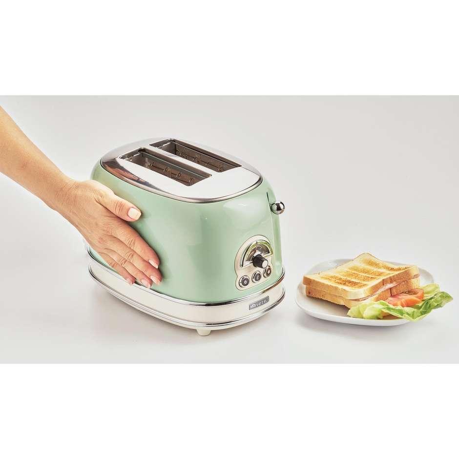 ariete tostapane vintage verde