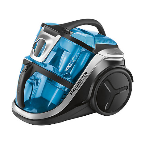 Aspirapolvere a traino ro-8341ea rowenta 750 watt classe a nero/blu